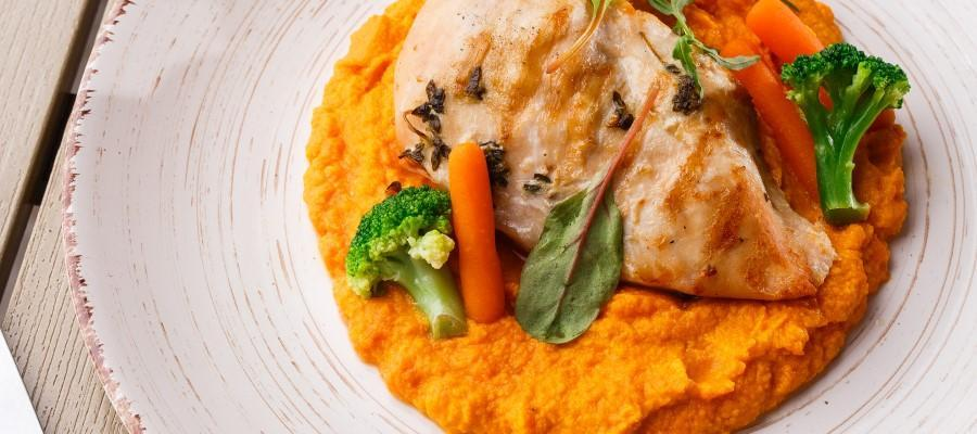 Carrot mash with chicken Bariatric Advantage
