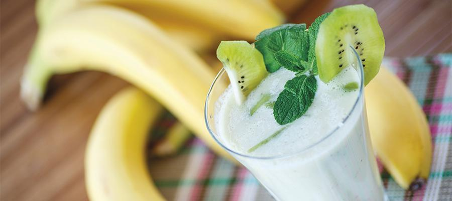 Banana & kiwi smoothie - Bariatric Advantage