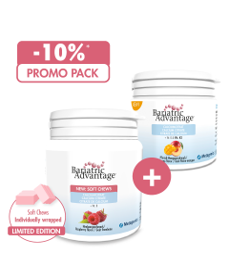 PROMO PACK: Calcium Citrate Raspberry  + Calcium Citrate Peach-Mango