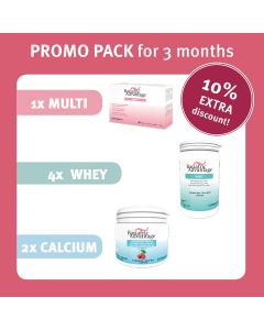 PROMO PACK : Multi + Calcium + Whey