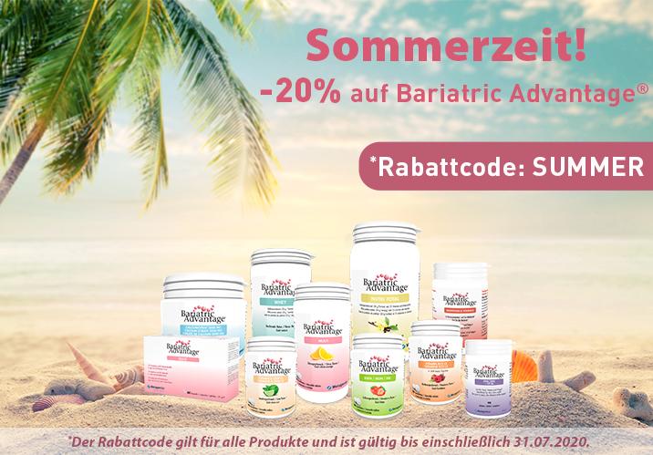 Bariatric Advantage Sommerzeit!
