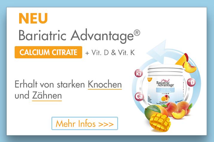 Bariatric Advantage CALCIUMCITRAT PFIRSICH-MANGO